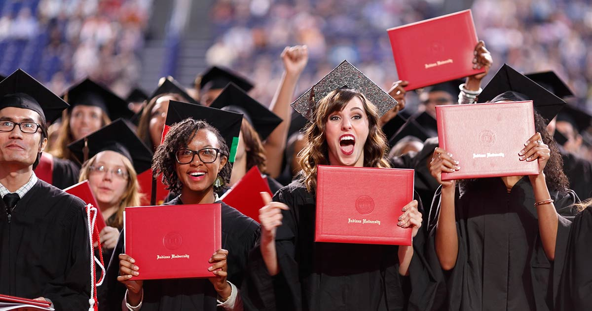 Indiana University Graduation 2020.Alumni Association Indiana University